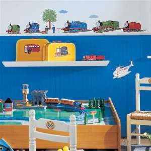 New THOMAS THE TANK ENGINE WALL DECALS Train Stickers Boys Bedroom