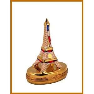 Paris Eiffel Tower French Le Porcelain Limoges Box