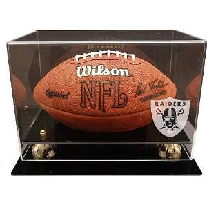 Coach s Choice Football Display Oakland Raiders Logo: