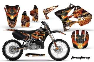 ROAD MOTORCYCLE GRAPHIC DECAL MX KIT YAMAHA YZ 125/250 02 11 FS