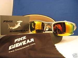 FINZ POLARIZED FISHING SILVER / GOLD MIRROR LENS