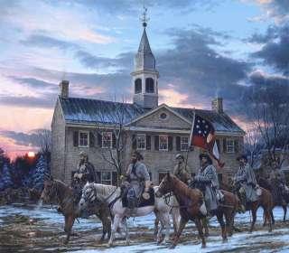 Defenders of the Valley John Paul Strain Civil War Executive Canvas