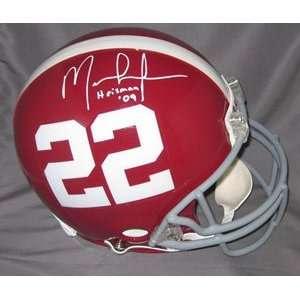 Mark Ingram Signed Crimson Tide Full Size Authentic Helmet