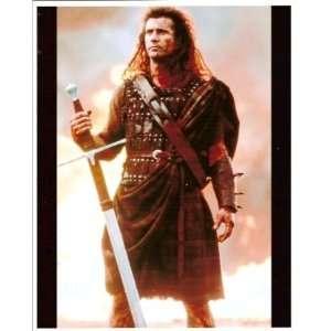 Braveheart Mel Gibson William Wallace 16x20 Sports