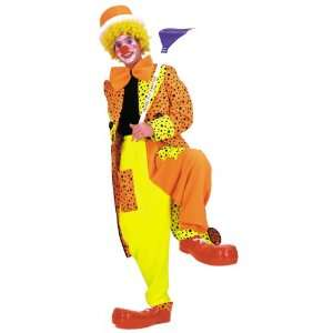 Dapper Dan Neon Adult Clown Costume Size Medium