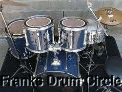 Rockstar 5pc Drum Set + Zildjian ZXT Cymbals + Hardware Kit + Throne