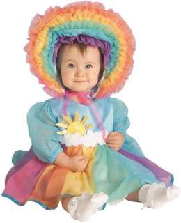 Rainbow Baby Cute Dress Up Infant Toddler Child Costume