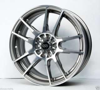 18 Silver Wheels Rims 4x100 Honda Fit Civic Insight HFP