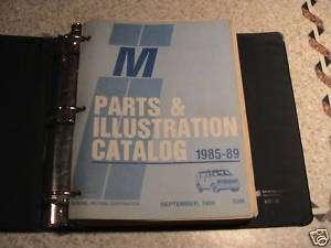 85 89 CHEVY/GMC ASTRO/SAFARI M VAN PARTS/ILLUS BOOK 52M