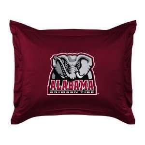 Collegiate Alabama Crimson Tide Locker Room Pillow Sham