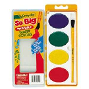 value So Big Water Color Refill 4 Colors By Crayola Llc: Toys & Games