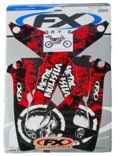 2012 FX METAL MULISHA GRAPHICS KIT   HONDA CRF 450 R 2005 2008   15