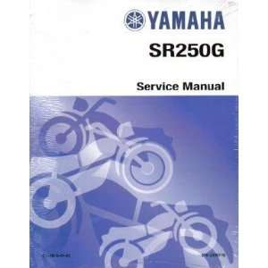 1982 Yamaha SR250 Exciter Factory Service Manual Yamaha Motors Books