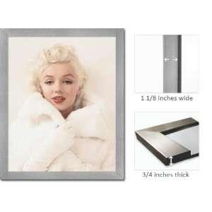 Framed Marilyn Monroe Mink Coat Legend Poster Fr16184