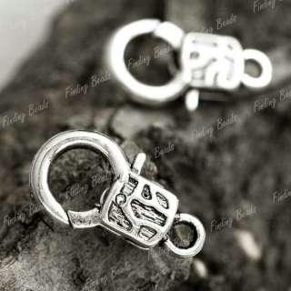 20pcs tibetan silver Fashion Lobster Claw Clasp TS4223