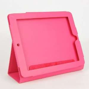 For iPad Leather Case & Stand Cover Bag Rose Electronics
