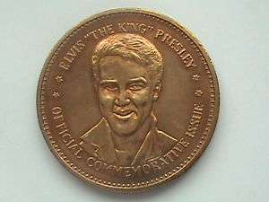 Elvis Presley Double Eagle Commemorative Medal