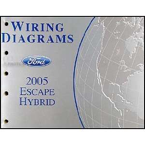 2005 Ford Escape Hybrid Wiring Diagram Manual Original Ford