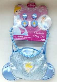 Disney Princesses Dress Up Set Glamour Bag, Necklace & Earrings NEW