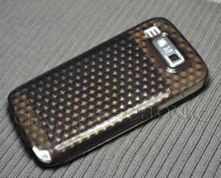 New generic 2 colors Diamond Gel Skin Case cover for Nokia E72