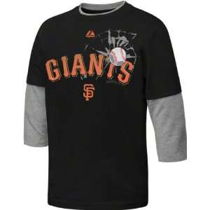 San Francisco Giants Black Youth The Whiff Two Fer Fashion