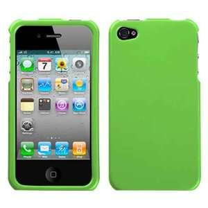 Neon Green Rubberized Snap on Hard Skin Shell Protector