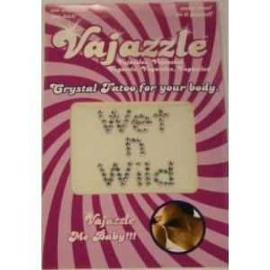 Bundle Vajazzle Wet N Wild and Aloe Cadabra Organic Lube Lavender 2.5