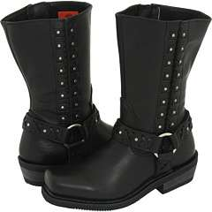 HARLEY DAVIDSON Womens Auburn Riding Boots Black D85431