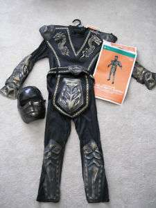 NEW GOLD DRAGON WARRIOR M L HALLOWEEN COSTUME CHILD NWT