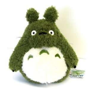 My Neighbor Totoro 13.5 Green Totoro Curly Plush Doll Toys & Games