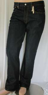 NWT MENS LEVIS 501 STRAIGHT LEG BUTTON FLY JEANS