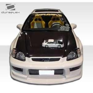 1999 2000 Honda Civic Duraflex Drifter Front Bumper   Duraflex Body