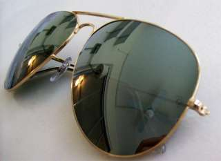 RAY BAN AVIATOR Sunglasses RB3026 001/40 Gold Mirror LARGE 62mm NEW