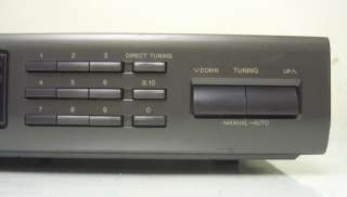 Nostalgia* Technics STEREO SYNTHESIZER TUNER ST K55