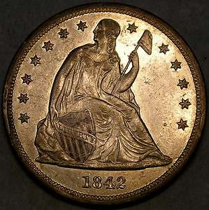 SEATED SILVER DOLLAR HIGH QUALITY APPEALING RARE *GORGEOUS* BEAUTY