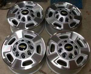 12 ONLY Chevy Silverado GMC Sierra 2500 3500 8 Lug 17 OEM Wheels Rims