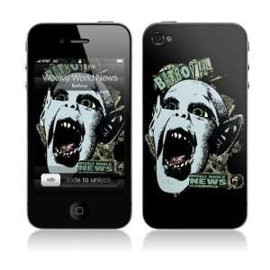 MS WWN20133 iPhone 4  Weekly World News  Batboy Skin: Electronics