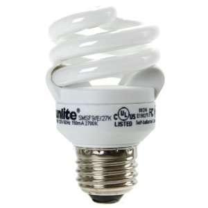 Super Mini Spiral Energy Saving Medium Base CFL Light Bulb, Daylight