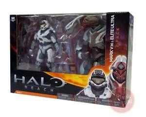 HALO REACH Mark V & Elite Ultra Action Figure 2 Set NEW