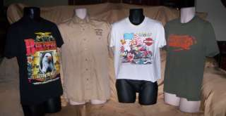 Big Lot Mens Harley Davidson & Biker Shirts medium