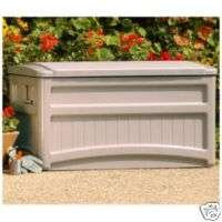 NEW Suncast Outdoor Patio Deck Accessories Storage Box