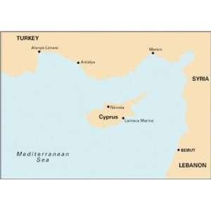 Coast of Turkey, Syria, Lebanon & Cyprus (9781846233715) Imray Books