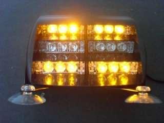 18 Amber LED car truck Flash Strobe Light 12V