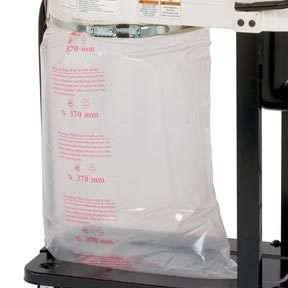REPLACEMENT PLASTIC DUST BAG FOR WOOD DUST COLLECTOR