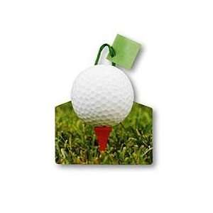 Pack of 6 Golf Tee Small Die Cut Gift Bags