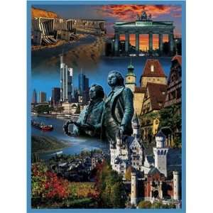 Germany Collage Jigsaw Puzzle 1000pc Toys & Games