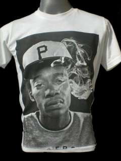 Wiz Khalifa T shirt S M L XL Rolling Papers Black And Yellow Taylor