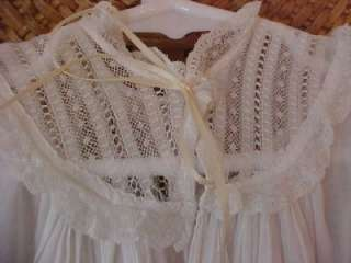 Adorable Antique Childrens Long CHRISTENING GOWN Baby Dress