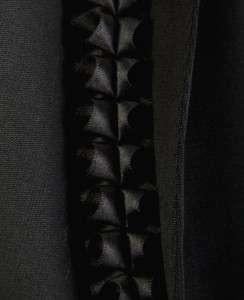 COLLEZIONI LADIES STYLISH BLACK 2PC JACKET SKIRT SUIT 48/14