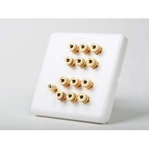 ATLONA 6 SPEAKER WALL PLATE WITH SUBWOOFER INPUT AT80120